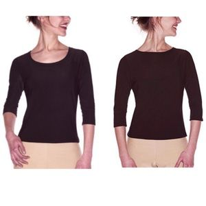 SPANX Bod-a-bing Slimming Reversible boatneck Top